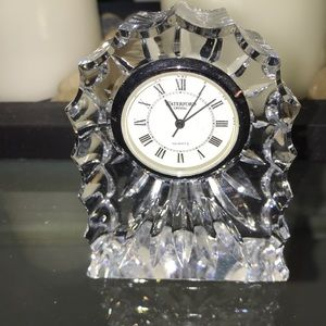 Waterford crystal clock.
